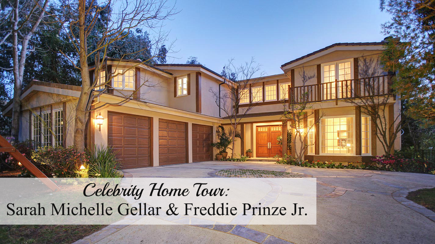 Celebrity home tour sarah michelle gellar freddie for La celebrity home tours